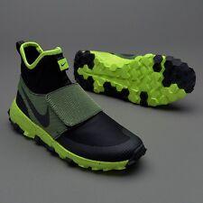 Nike ROSHERUN MID resistenza Nero Volt Uk 6 EUR 40 estremamente limitato!!!
