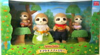Sylvanian Families Sloth Family Calico Critters 4 Dolls Epoch JAPAN 2020