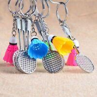 Racket Key Chain Key Holder Key Ring Keyfob Badminton Pendant Keyring