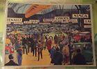 Objet de Métier Affiche Scolaire 42x30 Salon de l'Automobile Fiat Delage Rolls
