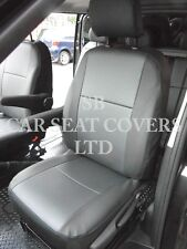 RENAULT TRAFIC CREW CAB 2016 6 SEATER -  PVC BLACK LEATHERETTE