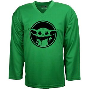 Baby Yoda Star Wars Hockey Jersey with Your Name & Number on the back