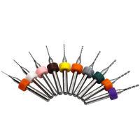 10PCS PCB Circuit 0.3mm-1.2mm Micro Drill Bits Board Carbide CNC Engraving Tool