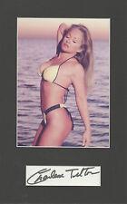 CHARLENE TILTON Signed 11x7 Photo Display DALLAS As LUCY EWING COA