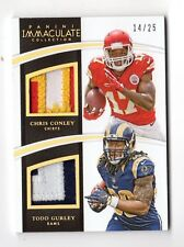 CONLEY / GURLEY NFL 2015 IMMACULATE COLLECTION DUAL JERSEYS #/25 (CHIEFS,RAMS)