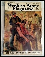 Pulp Magazine: WESTERN STORY August 13, 1921. Max Brand novel.