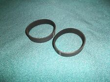 2 NEW DRIVE BELTS MADE IN USA FOR BLACK AND DECKER PLANER 7696 TYPE 6