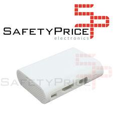 Raspberry Pi 2 & 3, Model B, b+ Custodia bianca White Case Shell Box SP00