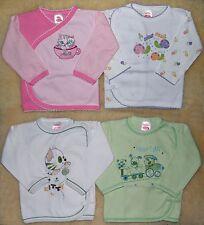 Baby Wickelshirt Baby Erstausstattung Babyshirt Gr. 74 Baumwolle NEU