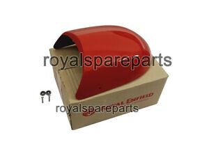 Royal Enfield Interceptor & GT 650 Touring Dual Seat Red Cowl