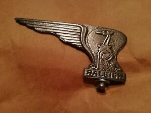 RALEIGH BICYCLE FENDER ORNAMENT BADGE NEW