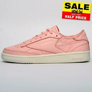 Reebok Classic Club C 85 DCN Women's Girls Casual Leather Retro Heritage Trainer