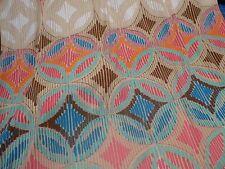 Interlocking Circles in Bright Pastels - ITY Knit
