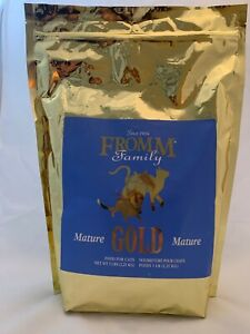 Fromm Gold Mature for Cats - 5 lb bag