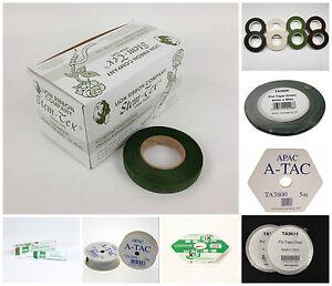 Florist/Floral Stem Tape, Pot Tape, Fix, Glue & Fixings, Art & Craft Supplies