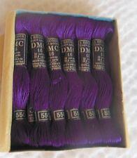 Ancien fil en coton à broder DMC 16 N° 550 - couture, mercerie