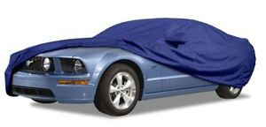 Ultratect Custom Car Cover Blue Fits 2006-2014 Dodge Charger with Rear Spoiler