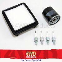 Filter & Spark Plug Service kit - Suzuki Jimny SN413 G13BB M13A (98+)