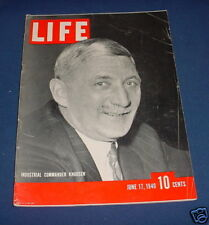 LIFE MAGAZINE JUNE 17 1940 CHARLIE CHAPLIN JOE LOUIS