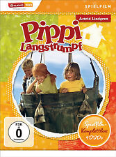 4 DVDs * ASTRID LINDGREN : PIPPI LANGSTRUMPF - SPIELFILM - BOX # NEU OVP §