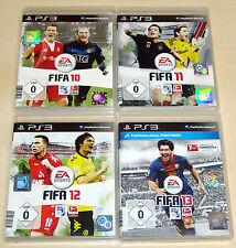 4 PlayStation 3 ps3 colección de juegos-fifa 10 11 12 13-Fútbol Soccer Football