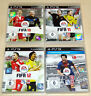 4 PLAYSTATION 3 PS3 SPIELE SAMMLUNG - FIFA 10 11 12 13 - FUßBALL SOCCER FOOTBALL