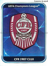 N°328 ECUSSON BADGE # CFR.CLUJ UEFA CHAMPIONS LEAGUE 2011 STICKER PANINI