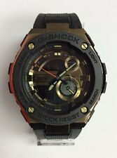 CASIO G-SHOCK G-Steel Layered Guard Gold Tone Rubber Digital WATCH GST200CP-9ACR