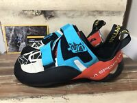 La Sportiva Otaki Climbing Shoes Blue/Flame 41.5 🇺🇸US-M 8.5 W- 9.5 🇬🇧UK 7.5