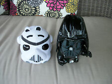 Star Wars Darth Vader plush and Angry Birds Star Wars Storm Trooper plush