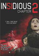Insidious: Chapter 2 (DVD, 2013) New, free shipping