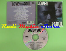 CD LOVE SONGS WITH SOUL compilation 1994 ARMSTRONG JONES DAVIS (C17) no mc lp