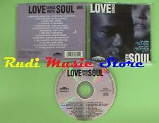 CD LOVE SONGS WITH SOUL compilation 1994 ARMSTRONG JONES DAVIS (C17) no mc lp