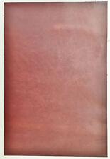 PEZZI in PELLE Cuoio 1 @ 30CM x 20CM 1.8-2.0 mm di spessore Chestnut morbida al tatto