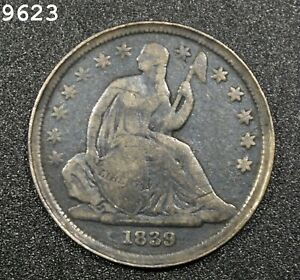 1839 Liberty Seated Dime *Free S/H After 1st Item*