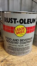 RUST-OLEUM food and beverage coating pearl white A84-9700 industrial