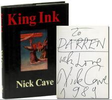 Antyki i Sztuka Nick Hardback Book The Fast Free Shipping King Ink II by Cave