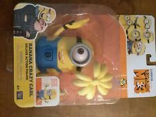 Despicable Me 3 Banana Crazy Carl Posable Deluxe Action Figure Minion Toy