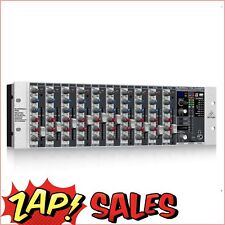 20% off use PEACHY20 Code: Behringer RX1202FX 12Ch Microphone Line Rack Mixer, P
