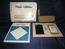 Math Utilities in Box #10-Texas Instruments Programmable TI 58 TI 59 Calculator