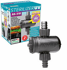Aquael Aquarium UVC Klärer Aquarien Filter Sterilisator UV AS UV-C 3W 5W 9W 11W