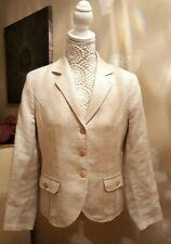 Womans Paul Costelloe linen blazer designer Size 10 Uk.