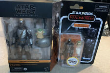 Star Wars Black Series AND Vintage Coll VC177 Din Djarin Mandalorian & The Child