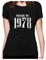 41st Birthday Gift Idea - Made In 1978 Women T-Shirt