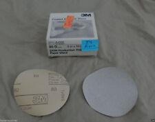 """3M Production Fre-Cut Sandpaper, 80-D grit, 6"""", 54 discs, -01285 (partial) hs"""