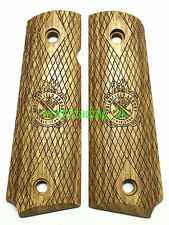 Real Wood Hand Grip For Marui/WE/KJ/BELL/1911/MEU GBB Airsoft (SPRINGFIELD )