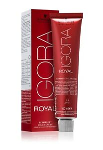 Schwarzkopf Professional IGORA ROYAL Hair Dye Germany 82 COLORS Original Gift