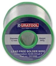 Lead Free Solder Wire 1.2mm 500g 227°C 18SWG - DURATOOL