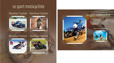 Motorcycles Motorräder Motos Sports Transport Togo MNH stamp set