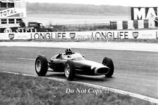 Graham Hill BRM P61 French Grand Prix 1963 Photograph